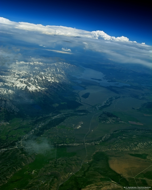 Jackson Hole and Blacktail Butte