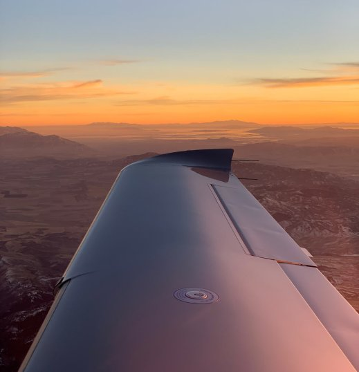 Wing Sunset