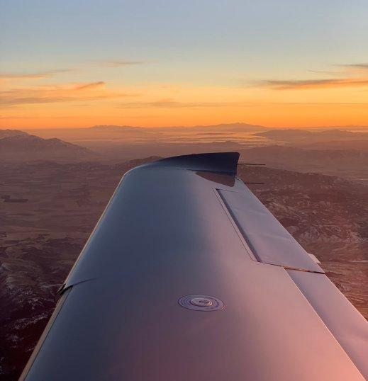 Wing Sunset
